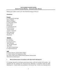 Board Minutes 02-24-11.pdf - LEAP Academy University Charter ...