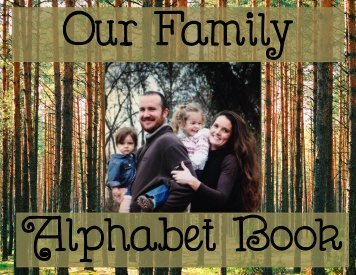 Our Family Alphabet Book