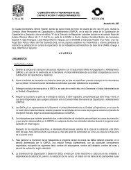 A continuación se detallan los aspectos que las ... - UNAM
