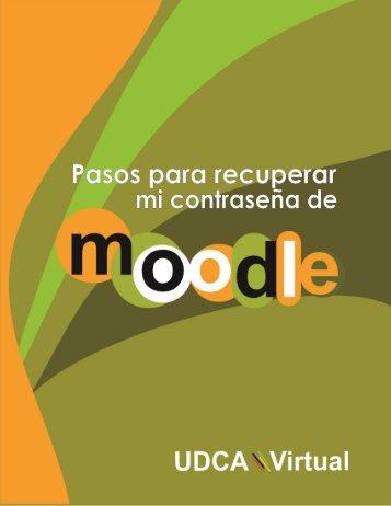 Olvidé la Contraseña de Moodle - Udca Virtual
