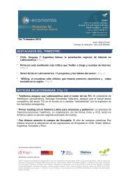Panorama TIC en América Latina - N-Economía