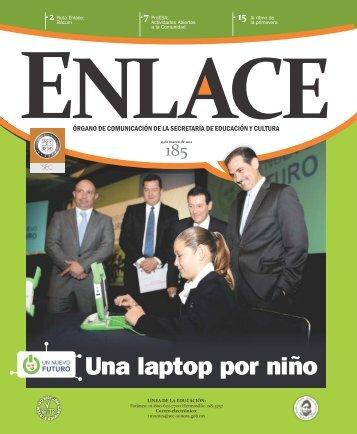 Una laptop por niño - Secretaría de Educación y Cultura