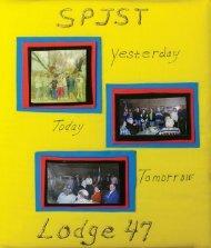 Lodge 47, Seaton - 1998-99 Scrapbook