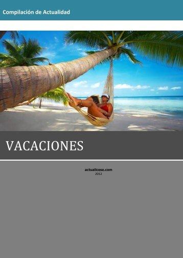 VACACIONES - Actualicese