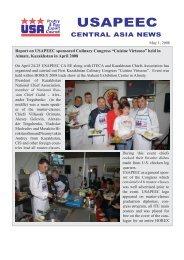 April Newsletter - Central Asia - Usapeec.kz