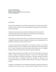 Open letter, PDF - Naturfreunde Internationale