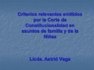 Doctrina legal en asuntos de familia por Astrid Vega - Corte de ...