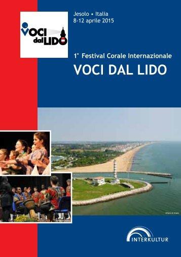 VOCI DAL LIDO 2015 - Program Book
