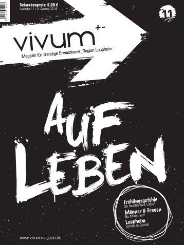 Vivum 11 | AUFLEBEN