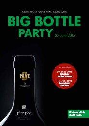 BIG BOTTLE PARTY 2015 - Magazin