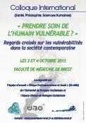 PRENDRE SOIN DE L'HUMAIN VULNÉRABLE - Page 2