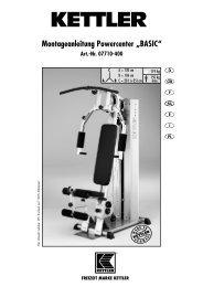 und Montageanleitung - Basic 2009 - Fahrrad Kaiser Gmbh