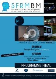 Programme du congrès (fichier PDF)