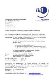Workshop-Plan (PDF, 115 KB) - BIB