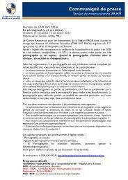 La pornographie et ses enjeux - CHU Marseille
