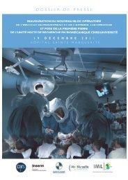 Inauguration du nouveau bloc opératoire de l ... - CHU Marseille