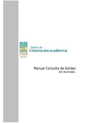 Manual Consulta de Kardex