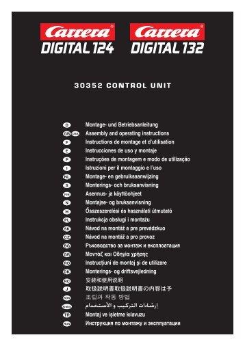 Carrera DIGITAL 124 Control Unit