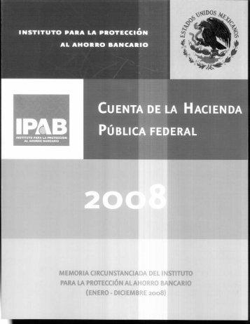 Enero-Diciembre 2008 - Secretaría de Hacienda y Crédito Público