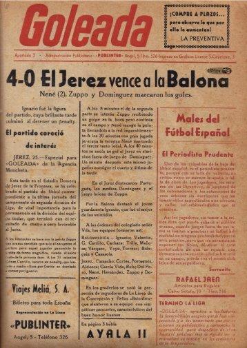 La Goleada del 19 de abril de 1954