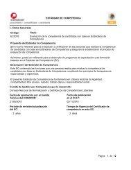 ESTÁNDAR DE COMPETENCIA I.- Datos Generales Código ...