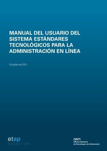 Manual del Usuario - Jefatura de Gabinete de Ministros