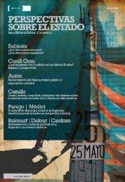 Revista INAP (pdf) - Jefatura de Gabinete de Ministros