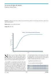 La curva de tipos de interés - extoikos