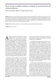 Hacia un nuevo modelo económico en España: la ... - extoikos