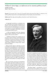 William H. Beveridge y su influencia en los sistemas ... - extoikos