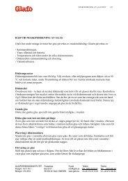 e-rapportmall Glafo