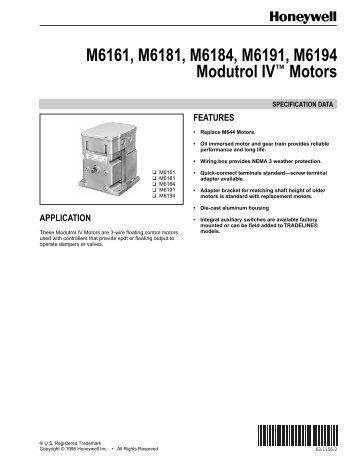 Series 71 72 and 76 mod m6161 m6181 m6184 m6191 m6194 modutrol 4 vancontrols cheapraybanclubmaster Images