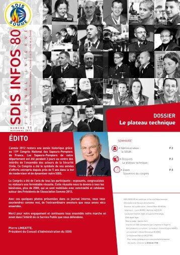 Télécharger le journal - SDIS80
