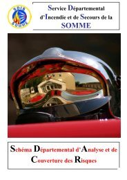 Télécharger le SDACR - SDIS80