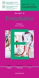 Emodialisi Guastalla.indd - Azienda USL di Reggio Emilia