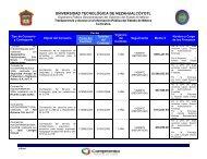 Licencias y Concesiones. - Universidad Tecnológica de ...
