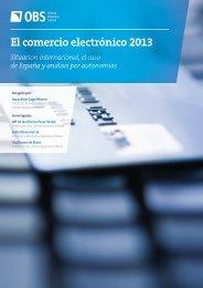 El comercio electrónico 2013 - Cladea