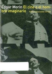 MORIN, Edgar - El cine o el hombre imaginario
