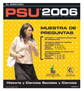 MUESTRA DE PREGUNTAS - Demre