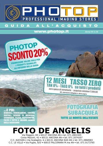 SCONTO 20% - Foto De Angelis