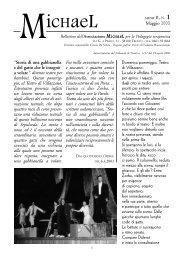 Anno 2, n°1 - Maggio 2003 - Associazione Michael per la pedagogia ...