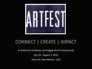 ART FEST 2012 CREATE | CONNECT | IMPACT