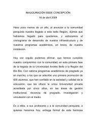 Mes del Mar 2009, Quintay - Universidad Andrés Bello