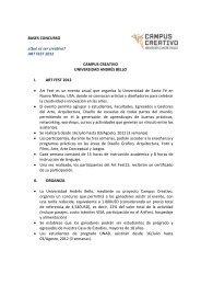 BASES CONCURSO - Universidad Andrés Bello