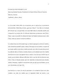 """Presentación oficial del libro """"Chile-China 40 años - Universidad ..."""