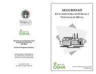 SEGURIDAD - Departamento del Trabajo y Recursos Humanos