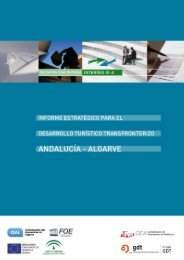 Estrategia para el desarrollo turístico transfronterizo Andalucía - Inicio