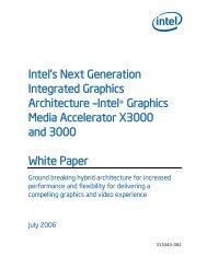 Technical Documents - Intel