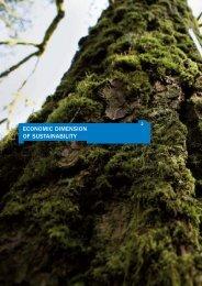 economic dimension of sustainability - Bilancio di Sostenibilità 2010