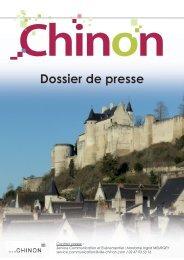 Dossier de presse - Chinon